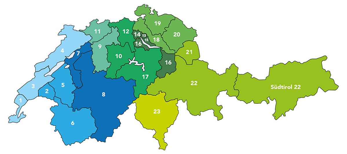Kiwanis Divisionskarte